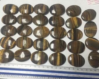 Wholesale 575g Tigerseye Cabochons 29pcs