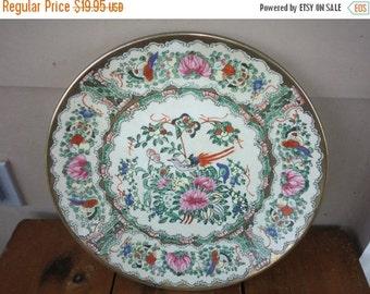 Vintage 1 Place Set Andrea by Sadek Decorative Plate Butterflies Birds Set Plate Online Vintage, Wall Decor, home accents,