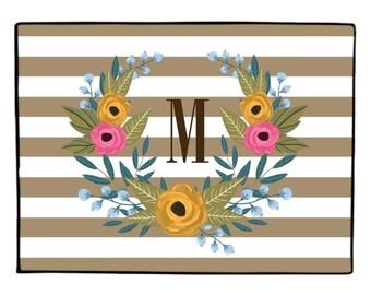 Personalized Fall Doormat //  Fall Decor Welcome Mat // Indoor Outdoor Rug //  Custom Autumn Door mat //  Gift for the Couple //  Doormat