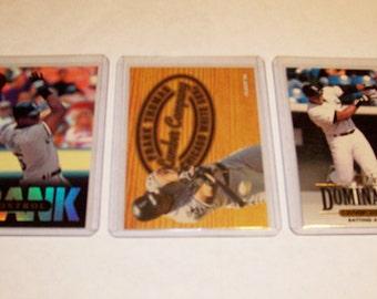 Vintage Frank Thomas Insert Cards-Set Of 3