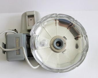 Compact German Fan Flash Vintage Retro / Media Room / Mad Men / Collector / 50s - 60s Era