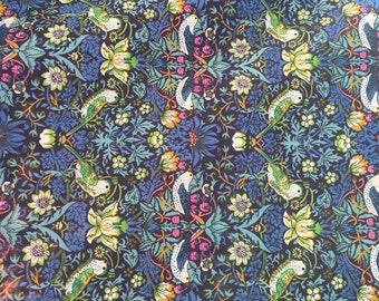 Strawberry thief,  liberty of London fabric 1/2 yard