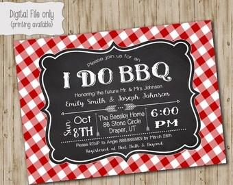 I do bbq invitation | Etsy