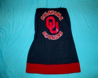 Game Day Dress - Sooners Apparel - Oklahoma University