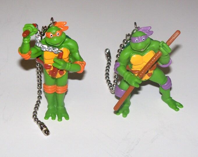 Teenage Mutant Ninja Turtles TMNT Ceiling Fan Light Pull, Kids Room Decor, Gift for Kids, Gift for Boys, Gift for Men, Man Cave Decor