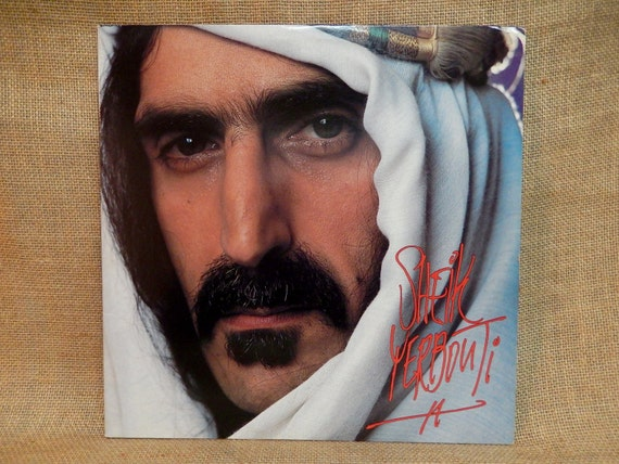 Frank Zappa Sheik Yerbouti 1979 Vintage Vinyl