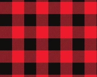 Buffalo Plaid Crib Skirt. Lumberjack Crib Bedding. Black and Red Bedding. Boy Baby Bedding. Woodland Crib Bedding. Plaid Nursery Decor.