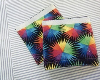 LUGGAGE HANDLE Wraps Luggage Identifier Tags Neon Starbursts  One (1) Each