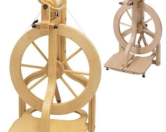 FREE US Shipping, Schacht Matchless Spinning Wheel, Single or Double Treadle, American Made, Single or Double Drive, Entry Level to Pro