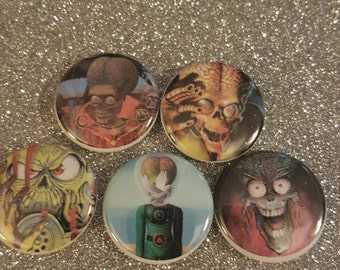 Mars Attacks Pin Set Vol. 2