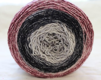 Scorched Earth Hand Dyed Sock Yarn