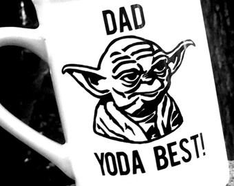 Star Wars Mug, Yoda Best personalized Coffee Cup