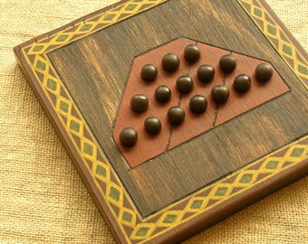 ANCIENT BOARD GAME  - Woodwork - Art - Handmade - Decoration - Gift - Wedding gift - Christmas gift: Tahir (Afghanistan)