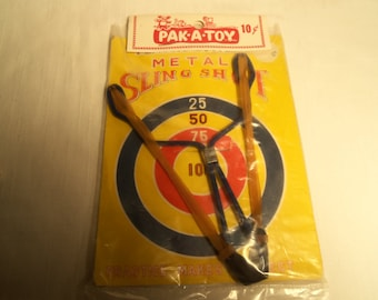 Vintage Novelty Dime Store Toy Sling Shot 10 Cents