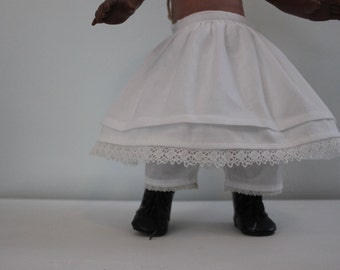 Petticoat and Pantaloons for 18'' dolls