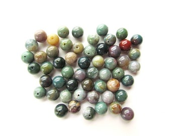 Indian Agate Beads 10mm (54)
