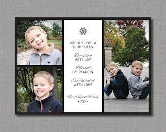 Bursting with Joy | Christmas/Holiday Photo Card
