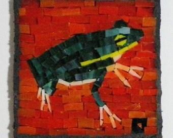 Frog Green Mini Mosaic 9