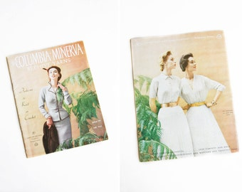 1950s Knitting Pattern Book - 50s Lee's Columbia-Minerva Beehive Yarns Knitting Book