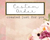 Custom Listing for lbrittain23 - White Organza Flower Bridal Sash Belt