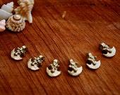 BRASS BEADS/ brass pendants/ yellow brass beads