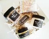 Spa Gift Box - Spa Set - Gift For Her - Bath And Body Gift - Bath Salt - Coworker Gift - Bath Salt Favor - Birthday Gift -  Bath Gift Set