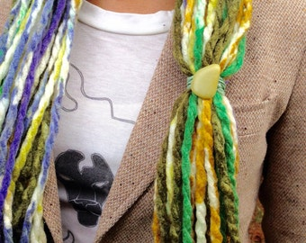 Peace Yarn Necklace