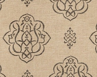 3BM Designer Pillow Cover Lumbar, 16 x 16, 18 x 18, 20 x 20, 22 x 22, Euro - Modern Metallic Medallion VY Pewter