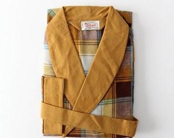 SALE vintage 60s Collegiate children's robe, new old stock