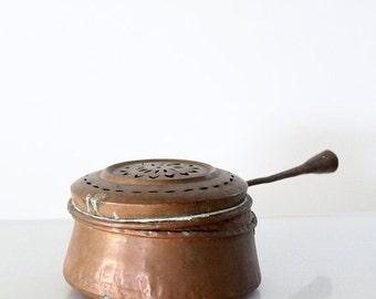 SALE vintage copper pot, kitchen pan