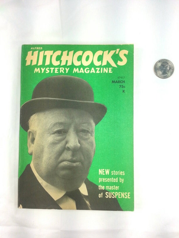 B4L07 1973 Alfred Hitchcock Mystery Magazine March Missing Priest Novelette by Max Van Derveer 13 Short Stories Volume 18 Number 3 Halloween