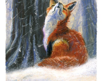 10 Foxy Greetings - Cards with Envelope