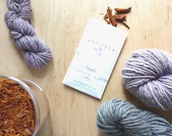 Logwood Natural Dye, plant based purple dye