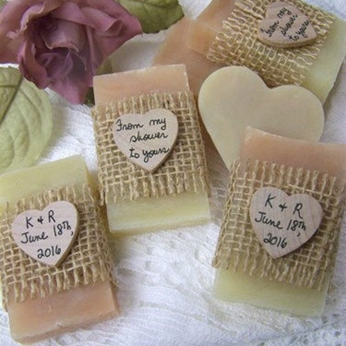 Rustic Wedding Favors Mini Soaps Bridal By CountryChicSoaps