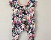 Harem Romper // Child Romper // Baby Romper // Child Bodysuit // Baby Bodysuit // Infant Romper // Modern Children Clothing