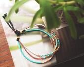 RESERVED!!! for KARA Morse code bracelet