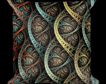 Fractal Impression 2 Designer Throw Pillow