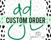 Custom Listing for Kara