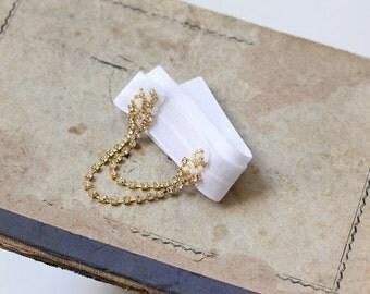 Bridal Rhinestone Garter, Wedding Garter, Bridal Garter, Vintage Inspired Garter - Gift for Bride, Wedding Garter, Crystal Garter