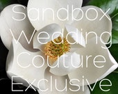 RESERVED exclusively for blueeyedjax13 Rush Order 40 Deluxe Couture Magnolia Blossoms,handcrafted clay flowers,made in Maui,Wedding flowers