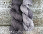 Hand Dyed Yarn, SW Merino/Bamboo/Nylon, Sock Yarn