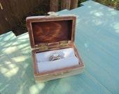 Ring Box I Do Box Be Mine Box Jewelry Box Engagment Ring Box  Brides Maid Gift