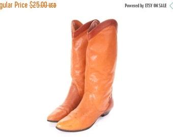 30% OFF Tall Boots Women's Size 6  1980s GLORIA VANDERBILT