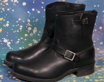 DOUBLE H West SONORA Short Motorcycle Boot Men's Size  13 E Wide