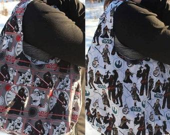 Reversible Star Wars Hobo Shoulder Bag