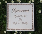 Reserved for Elizabeth - Custom order for a large, reversible, felted playmat - Desert Island and Countryside