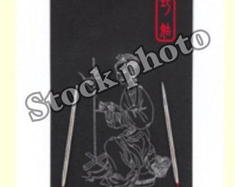 "ChiaoGoo, 9"",  US size 6,  circular knitting needle, sock knitting, stainless steel, knitting needles,"
