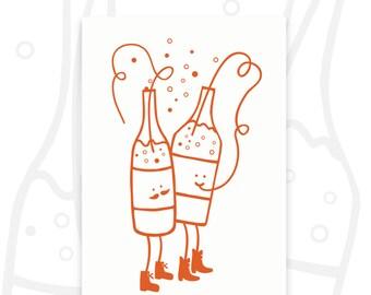 postcard 'lemonade party'