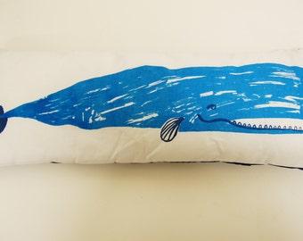 Long Whale Pillow