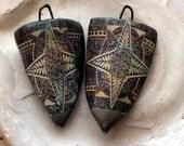 Polynesian Tapa Cloth Shield Decal Droppers#1